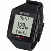 Спортивные часы-пульсометр SIGMA ID.LIFE Black
