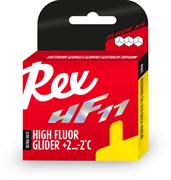 Мазь скольжения REX HF 11, (+2-2 C), Yellow, 40g
