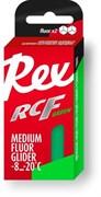 Мазь скольжения REX Racing Fluor Gliders, (-6-12 C), Green, 43g