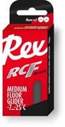 Мазь скольжения REX Racing Fluor Gliders, (-7-25 C), Graphite, 43g