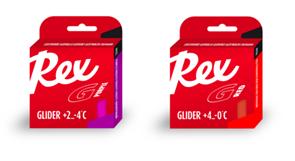 Мазь скольжения REX Racing Gliders, (+10-5 C), Purple/Red, 2 * 43g