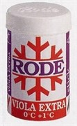 Мазь лыжная RODE, (+1-0 С), Violla Extra, 45g